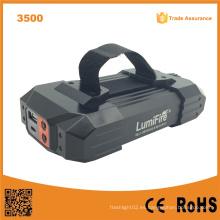 Lumifire 3500 10400mAh recargable 4 * 18650 LED linterna antorcha