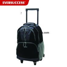Hot Sell Shopping Trolley Laptop Backpack, Girl Trolley School Bag Teenager Latop Trolley Bag (ESV250)