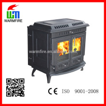 indoor cast iron wood stove door for sale WM703A