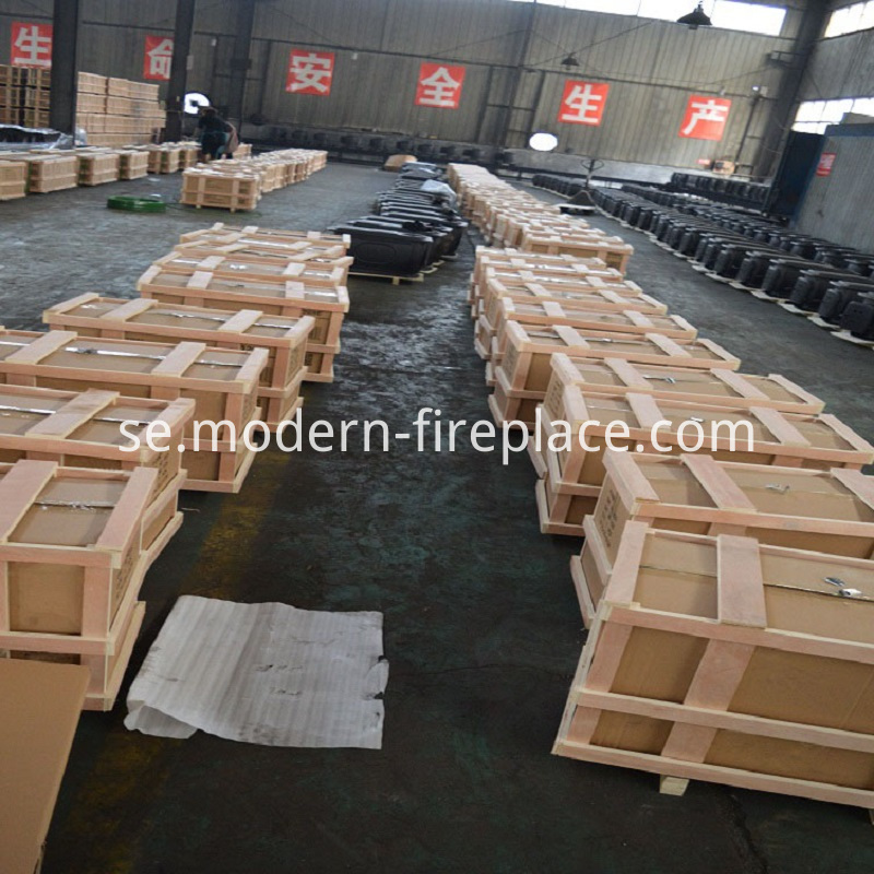Country Wood Burner Fireplace Furnace Packaging