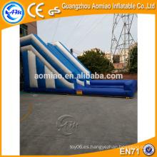 Barredora inflable de agua usada para la venta, tobogán inflable para piscina