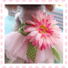 Doggy Pet Dog Clothes Party Summer Dress Rose Wedding Dress Dog Pet Puppy Clothing