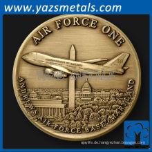 fertigen Metallmünze, Air Force 1 Herausforderung Münze