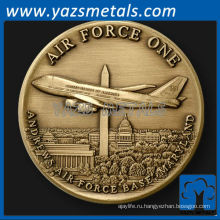 подгоняйте металл монеты, ВВС 1 монетка