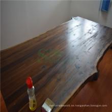 Tapa de tabla de madera de nogal negro americano
