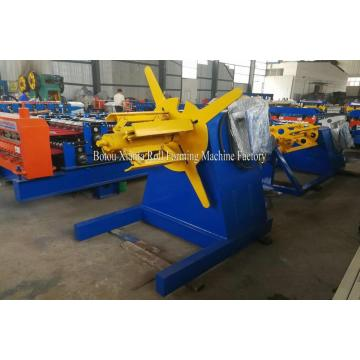 XF 10T Hydraulic Uncoiler with coiler car