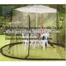 Moustiquaire parasol extérieur