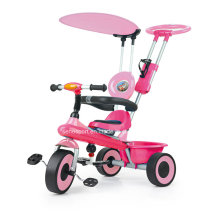 Triciclo popular del bebé de la forma del avión del color rosado (SNTR905 ROSA)
