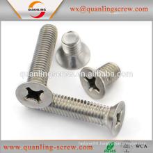 China wholesale high quality flat head machine screws