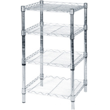 CE & ISO standard metal storage shelving/ adjustable metal shelving/ wire metal shelving