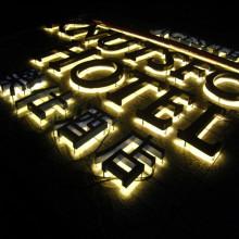 Halo Lit LED Channel Letter Signs pour la boutique