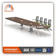 (МФЦ)ХТ-21-66 современный конференц-стол из нержавеющей стальная рама 6.6 М конференц-столы для продажи