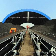 Сборный угольный укрытие с пространственной структурой