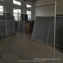 Galvanized Chain Link Wire Mesh Temporary Fence