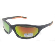 Пластиковые спортивные солнцезащитные очки с покрытием Lens