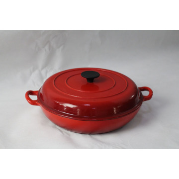 Enamel Cast Iron Braiser