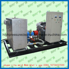Pompe à haute pression de nettoyage de tube de condenseur Pompe à haute pression de nettoyage industriel