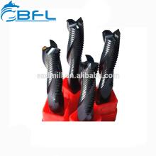 Кобальтовый концевой фреза BFL Размер Грубый фрезерный станок 4 Грубая зубная канавка