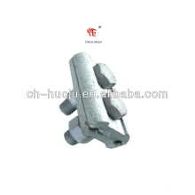 Abrazadera de ranura paralela para alambre de acero