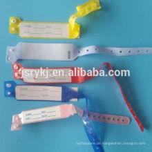 Krankenhaus Gebrauch Einweg-ID Kinder Armbänder für Großhandel