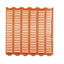 Plastic slats floor for pig farm