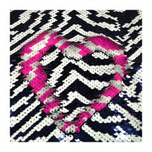 Two Sided Spangle Reversible Cushion Sequin Fabric