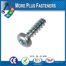 Made in Taiwan Plastite Stainless or Carbon Steel Thread Forming Trilobular Screw