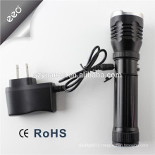 led flashlight torch, rechargeable torch led, ni-mh rechargeable led flashlight