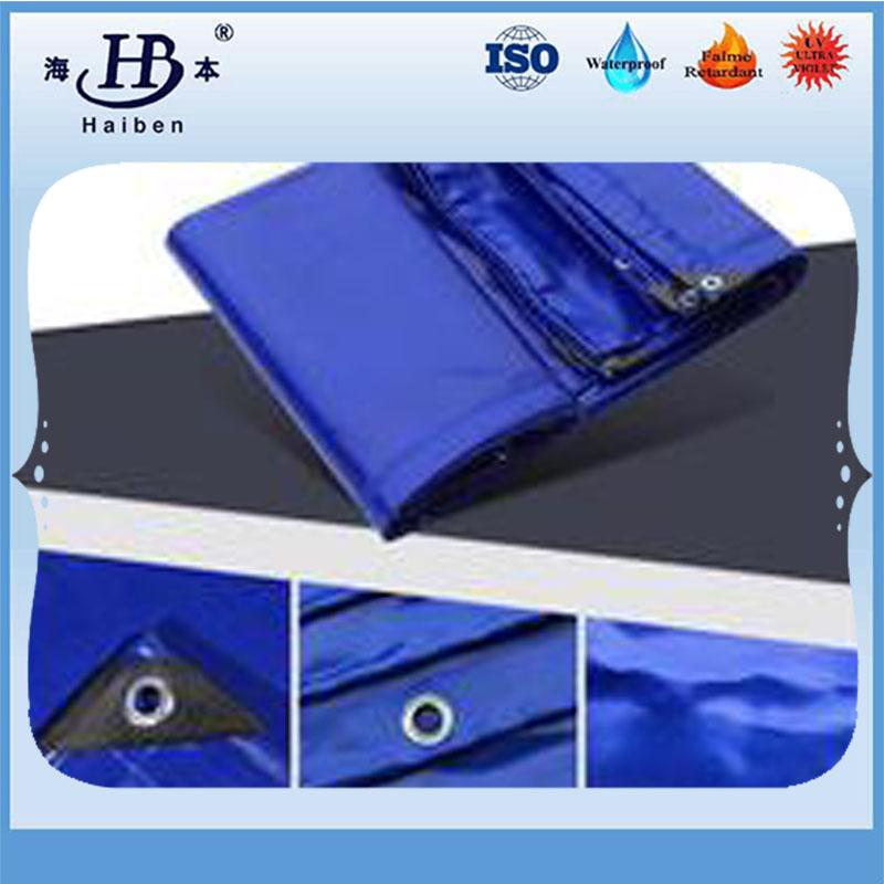Robuste imperméable pvc industrielle fini bâches