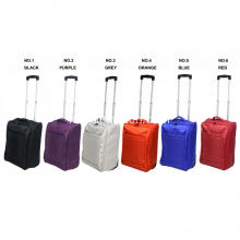 Ukuran Kabin Super ringan Shiny Foldable Trolley Bag