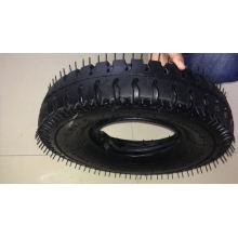 Wheel Barrow Tire and Tube Alta qualidade Lug Pattern