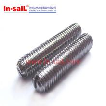 2016 venda quente aço ajustando parafuso fabricante em shenzhen