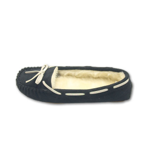 Quality for Moccasins For Women black moccasins home slippers for womens supply to San Marino Importers