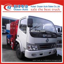 Fábrica de DFAC venta directa 4x2 mini camión de basura de carga automática