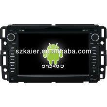 reproductor de DVD del coche para el sistema Android GMC