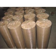 Malla de alambre soldado galvanizado