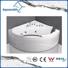 ABS Board Corner Massage Bathtub in White (AB0825)