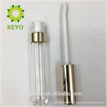 Unique liquid lipstick tube empty lip gloss tube gold lipstick tube
