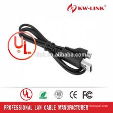 Cable del cargador móvil Cable del USB del micro USB 2.0 AM al cable micro B
