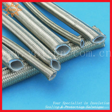 Resistance to pressure stainless steel braided ptfe hoses
