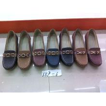 Falt & Comfort Señora zapatos con TPR suela (SNL-10-066)