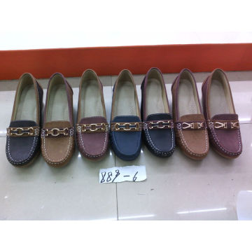 Falt & Comfort Lady Shoes with TPR Outsole (SNL-10-066)