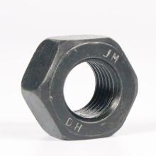 Écrous hexagonaux en acier au carbone/acier inoxydable/DIN934/ISO4032