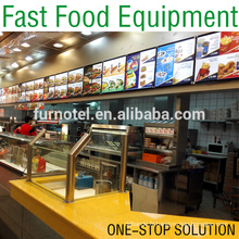 Hot Sale Burger Restaurant Fast Food Equipment (Solution à guichet unique)