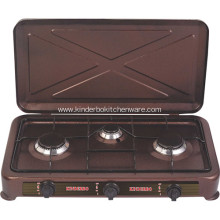 Europe Type 3 Burner Gas Range