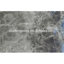 Design de motif en marbre Feuille en alliage d'aluminium 1070