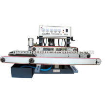 YMA211 Horizontal Straight Line Glass Edging Machine With 4 Wheels