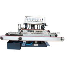 YMA211 Horizontal Straight Line Glass Edging Machine With 4 Wheels