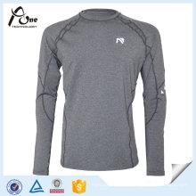 Desgaste de funcionamento personalizado das camisas de esportes do lazer para homens