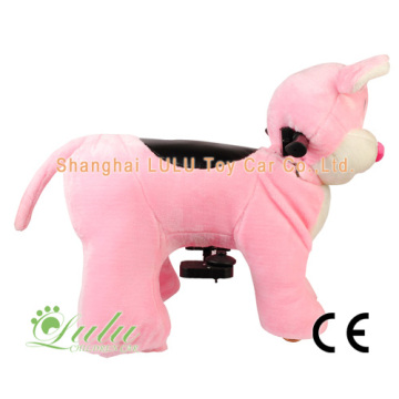 OEM for Walking Animal Rides Zippy Ride Pink Big Ear Mouse export to Marshall Islands Factory